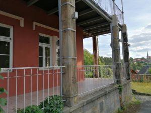 Naturstein Restaurierung am Hotel Fantasie in Eckersdorf
